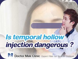 Is temporal hollow injection dangerous