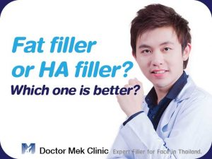Fat filler vs HA filler
